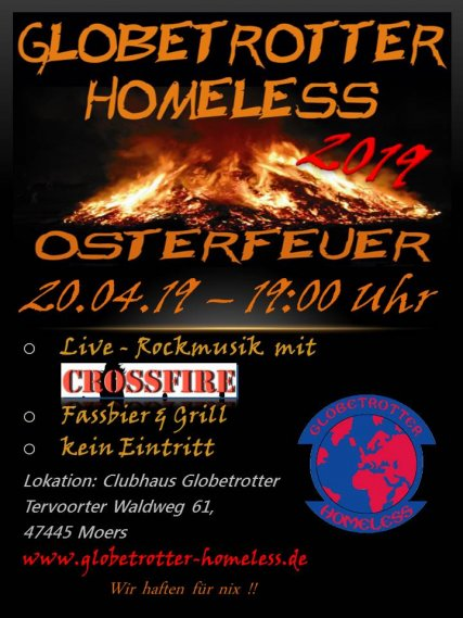 Osterfeuer Globetrotter - 2019